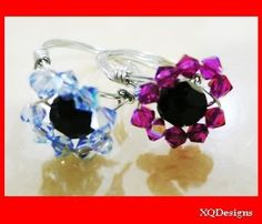 FREE PDF How to make Threaded Flower Crystal Ring Tutorial