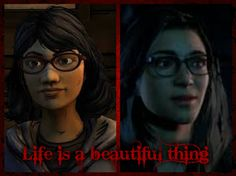 sarah from the walking dead season 2 and hannah from until dawn, they do look simular :0