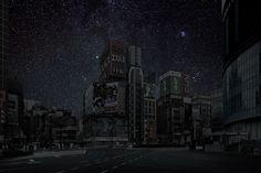 Des villes éteintes la nuit TOKYO 700x466 photo photographie bonus art