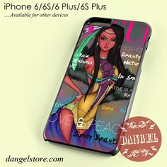 Pocahontas Disney Vogue Magazine Phone case for iPhone 6/6s/6 Plus/6S plus