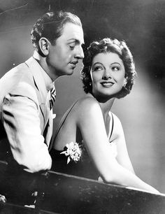 William Powell and Myrna Loy in a still for Libeled Lady 1936