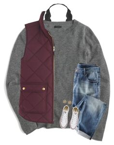 """""""&&; I shattered my phone screen.."""" by strawberry-styles ❤ liked on Polyvore featuring Humble Chic, J.Crew, Converse and Sperry"""