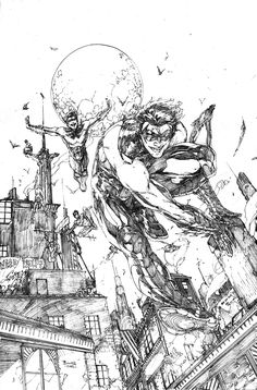 They need to get Brett Booth drawing Nightwing ASAP.