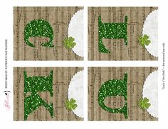 ~FREE PRINTABLE BANNER~ St. Patricks Day Banner - Luck o the Irish