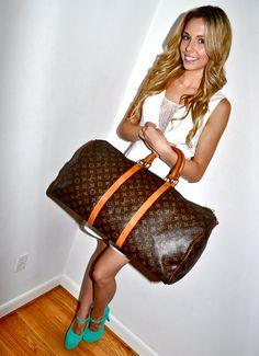 Make an Offer LOUIS VUITTON Keepall 55 Duffel Bag by louise49, $540.00