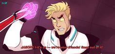 Percy Jackson / Voltron AU - by cindersart --- Jason/Shiro