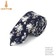 0d9d68bd730b 2018 Cotton Men's Colourful Paisley Print Neck Ties For Men Necktie Narrow  Slim Skinny Cravate Narrow