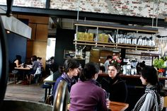 Eftpos best cafe: Auction rooms, North Melbourne.