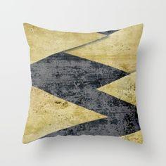 GOLD teeth Throw Pillow by Simona Sacchi   Society6
