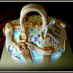 """My first LV bag """"the cake shop at highland reserve """" on Facebook"""