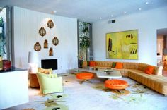Arthur Elrod home in Palm Springs was experiment in design
