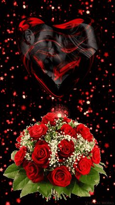 LOVE ♡♥️♡ An illustration of what transpires when we become one! Love Images, Beautiful Love Pictures, Beautiful Gif, Romantic Pictures, Beautiful Flowers Wallpapers, Beautiful Rose Flowers, Heart Wallpaper, Love Wallpaper, Coeur Gif