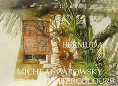 zarowsky; self published book of bermuda watercolours