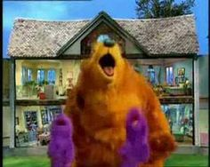Disney- Bear in the big blue house theme song This song reminds me when I was 5 years old and I would watch this show every morning when it would come on Disney. It was my favorite show to watch. I did have other shows I liked, but this one had to be my favorite. I would also watch it everyday before school.