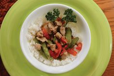 Make Stir-Fried Pork in less than 30 minutes with this Electric Consumer recipe. Just need Italian dressing, pork tenderloin, red pepper, snap peas, green onions, mushrooms, soy sauce, cornstarch and ginger. We made it #glutenfree with gluten-free soy sauce!