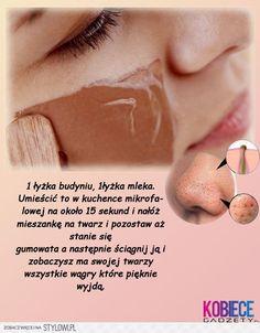 Maseczka na wągry Beauty Hacks For Teens, Beauty Ideas, Diy Beauty, Brown Eyeliner, Lots Of Makeup, Puffy Eyes, Fake Eyelashes, How To Apply Makeup, Good Skin