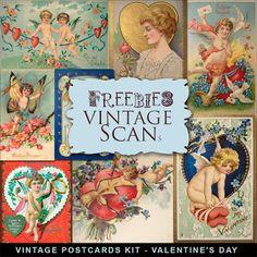 Scrapbooking TammyTags -- TT - Designer - Far Far Hill,  TT - Item - Element, TT - Theme - Vintage, TT - Theme - Love, Valentines, or Wedding