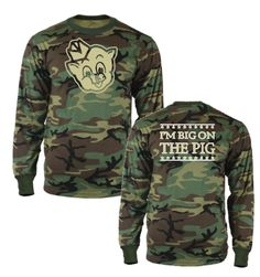 Big on the Pig Camouflage Shirt - $15.99 // just don't shoot any pigs