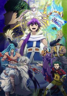 """Crunchyroll - TV Anime to Adapt """"Magi"""" Spin-Off """"The Adventure of ..."""
