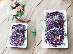 Red Cabbage Steaks with Balsamic Glaze: Jessi's Kitchen. Photography: Redeeming Love Photography