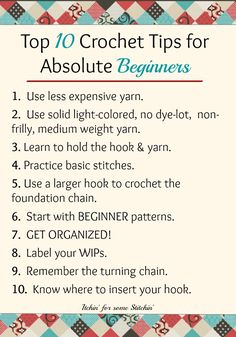 Sublime Crochet for Absolute Beginners Ideas. Capital Crochet for Absolute Beginners Ideas. Crochet Stitches For Beginners, Crochet Stitches Patterns, Crochet Basics, Sewing For Beginners, Crotchet For Beginners, Beginner Knitting, Loom Knitting, Crochet Classes, Learn To Crochet