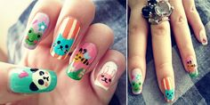 rabbit nail art06