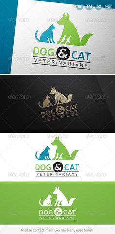 Logotipos para Clínicas Veterinarias.