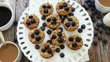 How to Make Breakfast Blueberry Oatmeal Cakes in Your Muffin Tin - EatingWell.com