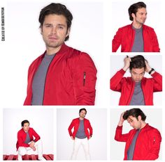 Seb in red. And everything is alright.