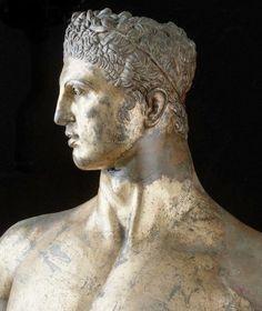 Hercules Gilded - Palazzo dei Conservatori, Capitoline Museums, Rome, Italy