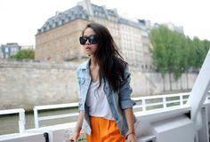 Shop this look on Kaleidoscope (jacket, pants, sunglasses)  http://kalei.do/WEygubMJfAcfoaY3