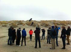 Ondersteuning bij film opnames op Terschelling! www.mooi-weer.nl