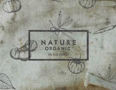 Logo and Branding design for Nature Organic, India.