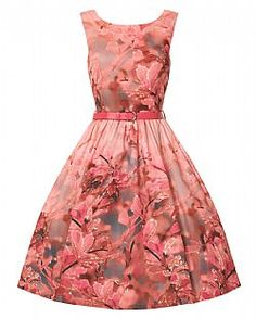 vintage φόρεμα Anna Blossom