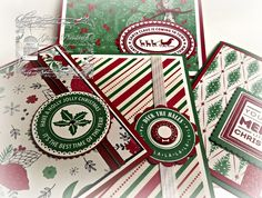 Designz By Gloria Holly Jolly Layers This Christmas Specialty Designer Series Paper