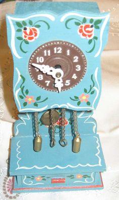 Selten Dora Kuhn Standuhr Uhr Puppenstube Puppenhaus Zubehör Möbel Puppenmöbel | eBay