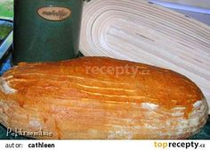 Česnekový chleba z kvasu