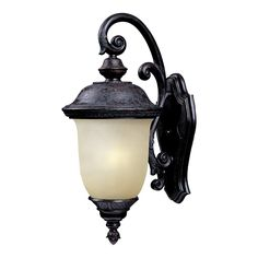 Maxim Lighting 86596MOOB Carriage House EE 1-Light Outdoor Wall Lantern at ATG Stores
