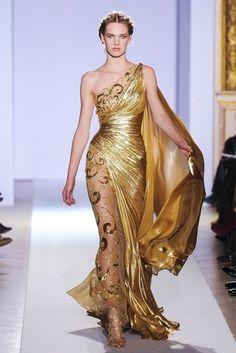 Zuhair Murad Spring 2013; Dragon's gold