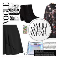 """""""SheIn"""" by beautifulsunshine1 ❤ liked on Polyvore featuring Billini, Alexander McQueen, Casetify, Essie and Who What Wear"""