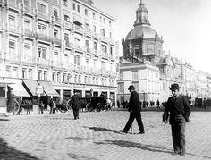 Dando un paseo por la Calle de Alcalá en 1892. Madrid