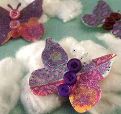 Schmetterlinge  Sonnenhut Patch  5 von psitsinthedetails auf Etsy,