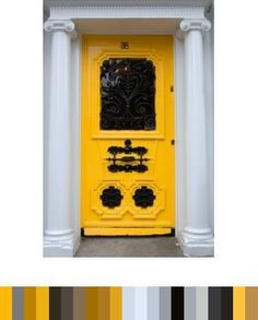 door, decor, color, inspiration