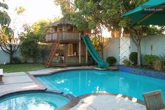 25 Ideas for Decorating Backyard Pools If i get a house with a pool i'm definitely adding this!