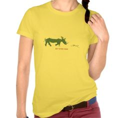 Don't bother vegans t-shirt. An angry rhino is charging the poor carnivore cheetah... Don't bother vegans! Customize it at your pleasure!