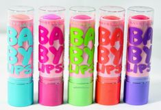 Maybelline Baby Lips Pink'd Collection