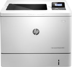 HP - LaserJet Enterprise M553dn Color Printer - Light Gray, B5L25A#BGJ