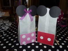 Mickey And Minnie Treat Bags