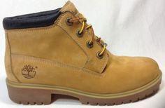Timberland Boots 8.5 Womens Waterproof Nellie Chukka Wheat Nubuck Classic