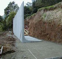 Wiki Unité construction - BETON 0607 - Mise En Place Dun Mur De Soutenement